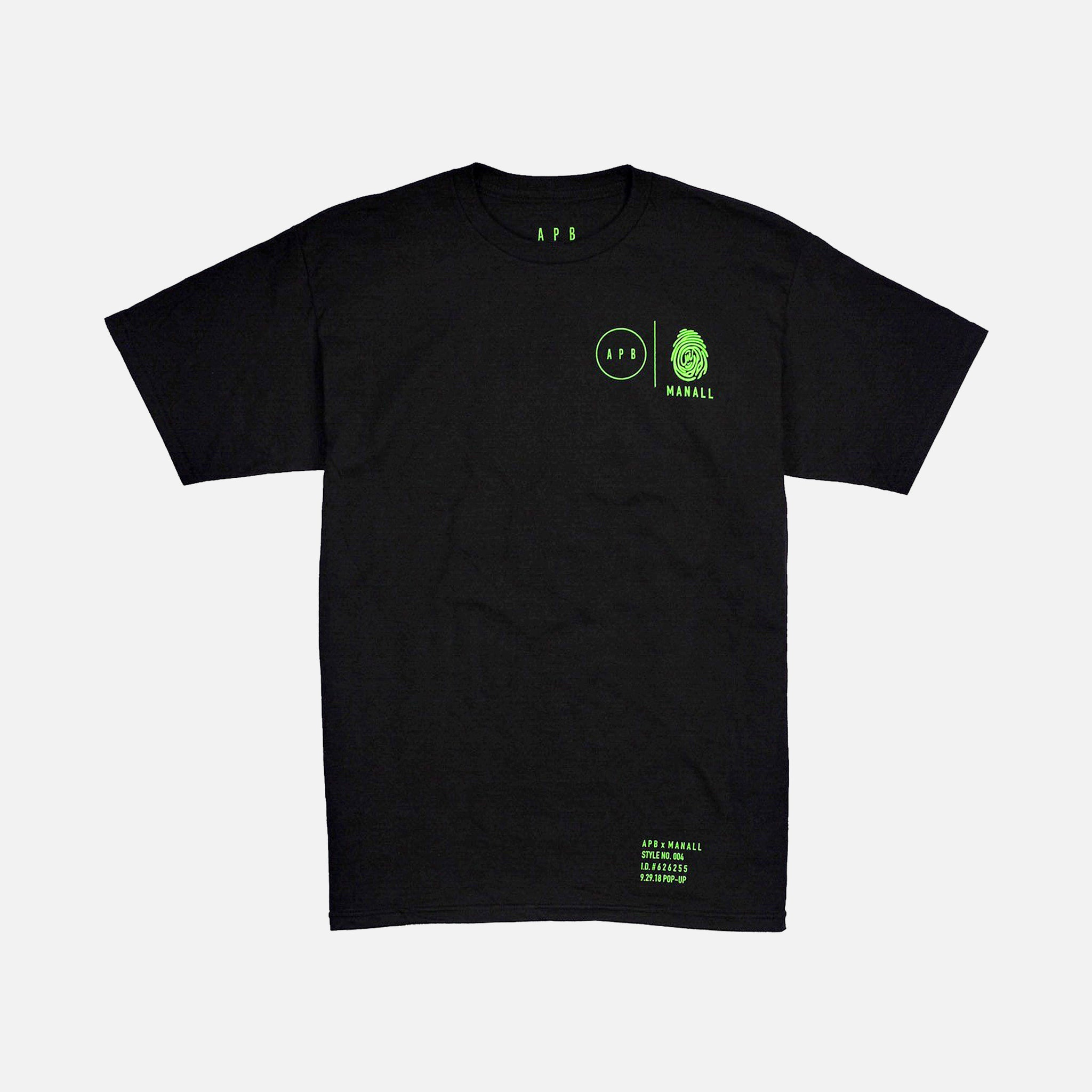 APB COLLAB T-SHIRT - BLACK