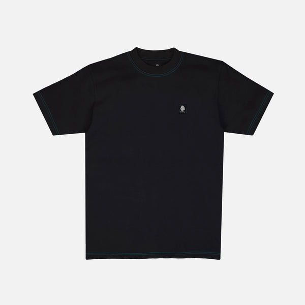 STOCK LABEL T-SHIRT - BLACK