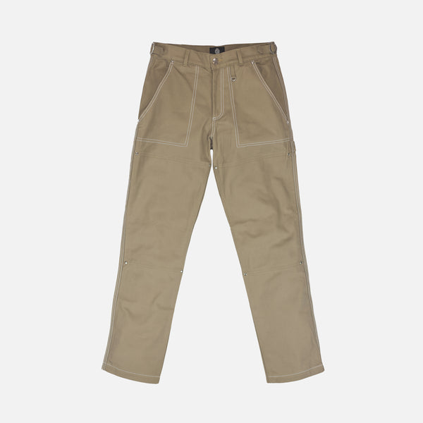 DOUBLE KNEE WORK PANT - TAN