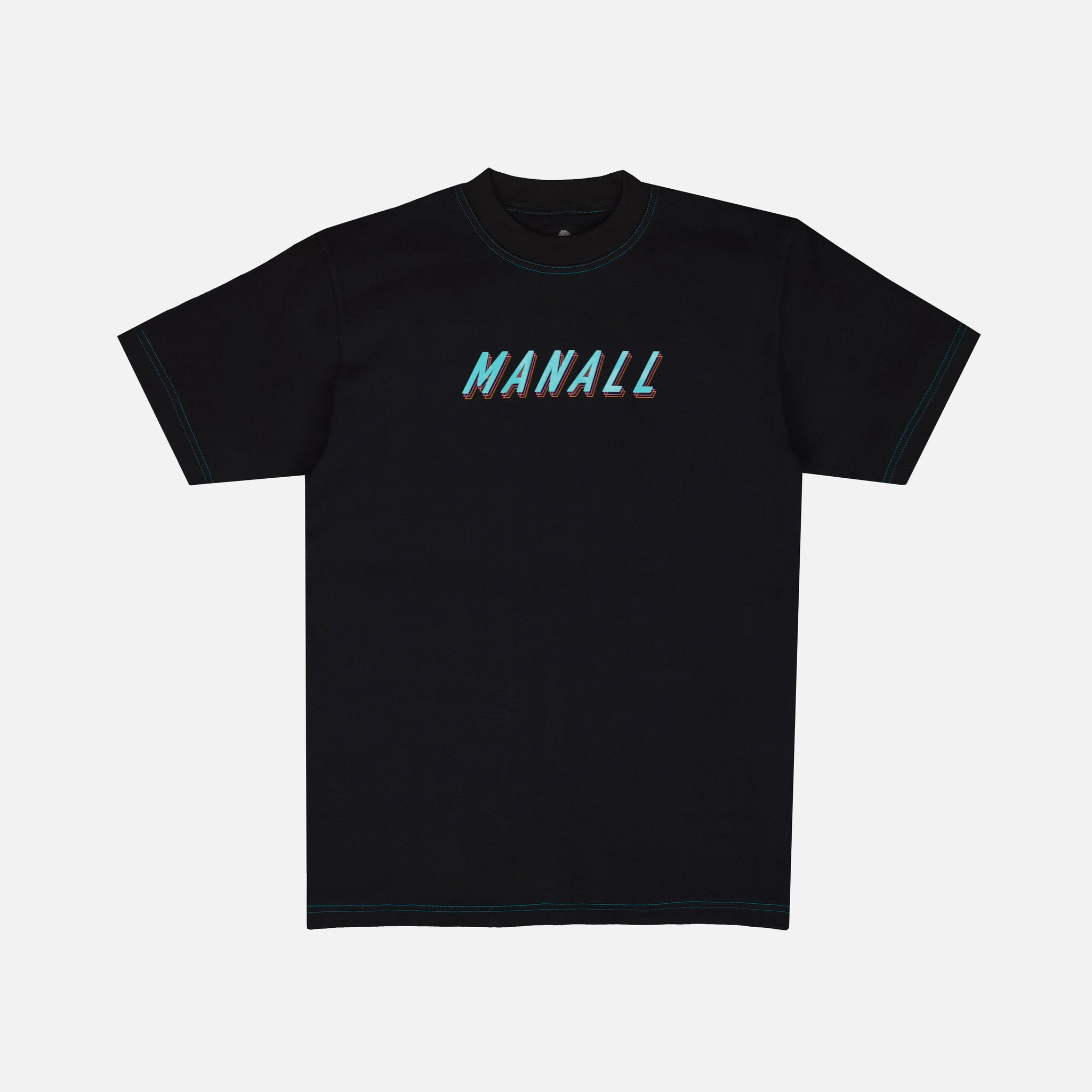 RETRO TILT T-SHIRT - BLACK