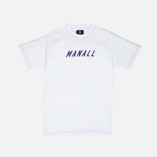 RETRO TILT T-SHIRT - WHITE