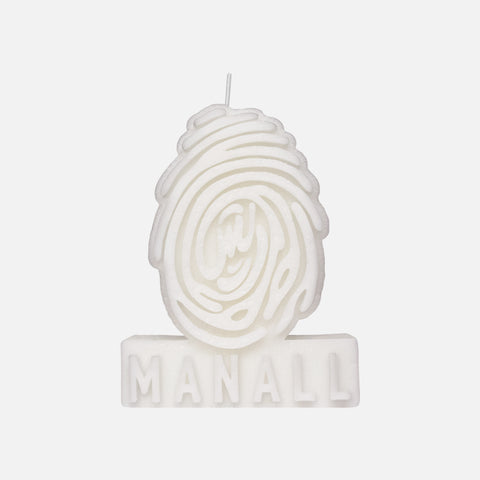 LOGO CANDLE - WHITE