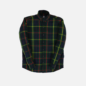 WOOL PLAID FLANNEL - MACKENZIE