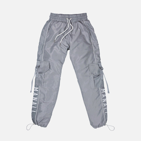 CARGO TRACK PANT - STEEL