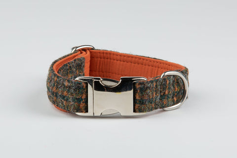 NEW - Harris Tweed Brazen Brown & Orange