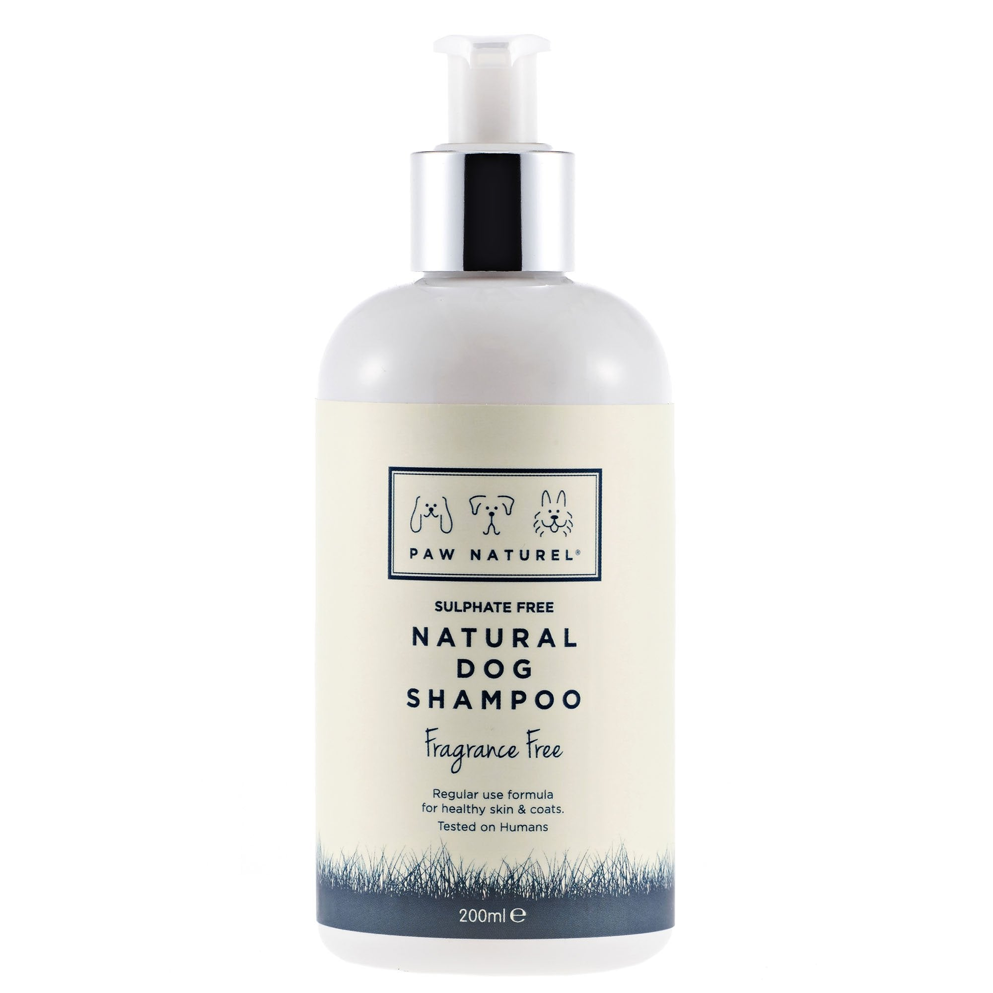 PAW NATUREL ORIGINAL FRAGRANCE FREE DOG SHAMPOO 200ML