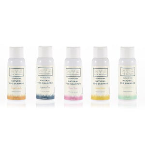 PAW NATUREL MINI TRIAL PACK OF 5 SHAMPOO SAMPLES