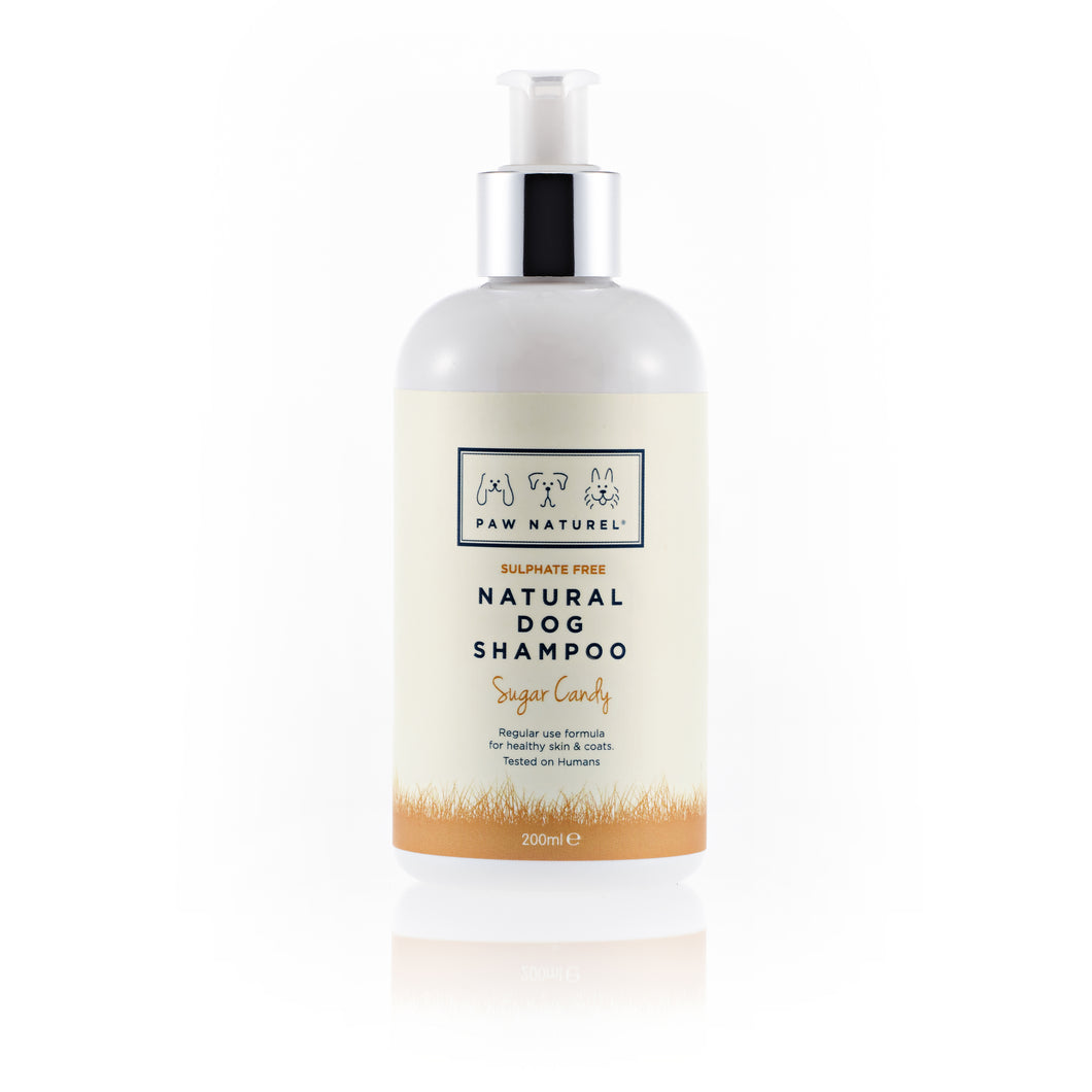 PAW NATUREL SUGAR CANDY NATURAL DOG SHAMPOO 200ML
