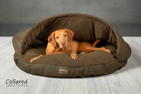 New Classic Cave Bed - Tweed