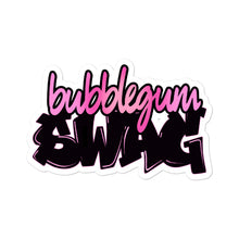 Load image into Gallery viewer, Bubble Gum Swag Logo stickers