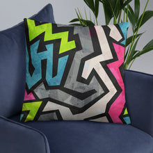 Load image into Gallery viewer, Bubble Gum Swag Throw Pillow