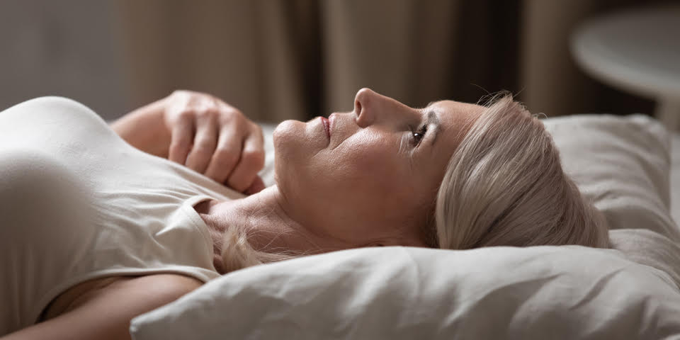 Sleep problems caused by perimenopause and menopause