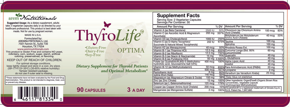 Load image into Gallery viewer, ThyroLife Optima