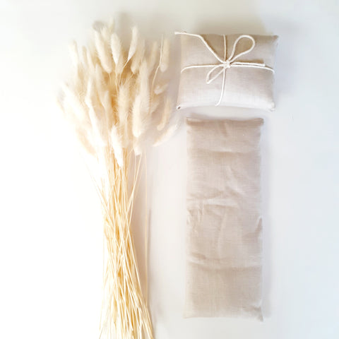 Lavender Infused Eye Pillow | Natural Linen