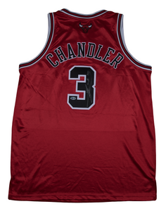 Tyson Chandler Autographed Chicago Bulls Jersey
