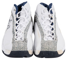 Load image into Gallery viewer, 2001 Reggie Miller Game Used & Signed Jordan Indiana Pacers Sneakers