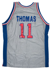 1981-82 Isiah Thomas Autographed Detroit Pistons Jersey