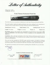 Load image into Gallery viewer, 1998-1999 Frank Thomas Game Used & Signed Rawlings 576B Model Bat