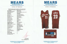 Load image into Gallery viewer, 2003-04 LeBron James Game Used Cleveland Cavaliers Rookie Season Road Jersey