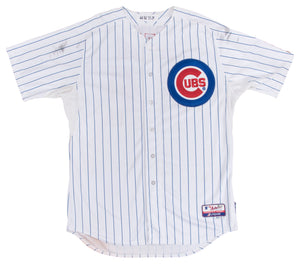 2013 Anthony Rizzo Game Used & Signed Chicago Cubs Home Jersey Used on 9/25/13