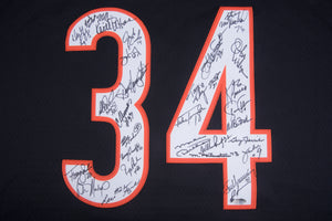1985 Chicago Bears Team Signed Walter Payton Chicago Bears Jersey With 31 Signatures Including Ditka, Dent, & Singletary