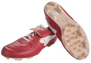 1980s Ozzie Smith Game Used & Signed ROOS Cleats