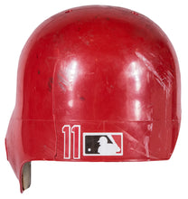 Load image into Gallery viewer, 1999 Barry Larkin Game Used Cincinnati Reds Batting Helmet