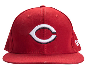 2017 Joey Votto Game Used Cincinnati Reds Cap Used For Career Home Run #250