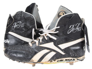 1994 Frank Thomas Game Used & Signed Reebox Cleats