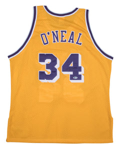 Shaquille O'Neal Autographed Lakers Jersey