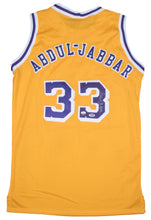 Load image into Gallery viewer, Kareem Abdul-Jabbar Autographed Lakers Jersey