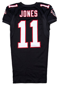 2012 Julio Jones Game Used Atlanta Falcons Black Alternate Jersey