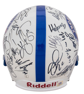 2001 Pro Bowl Multi-Signed Helmet With 30+ Signatures Including Peyton Manning