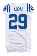 Load image into Gallery viewer, 2007 Joseph Addai Game Used Indianapolis Colts Road Jersey Photo Matched To 11/22/2007