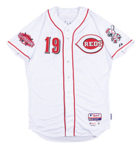 Load image into Gallery viewer, 2015 Joey Votto Game Used & Signed Cincinnati Reds Home Jersey Used on 8/22/2015