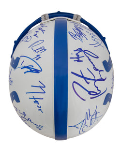 2005 Indianapolis Colts Team Signed Game Model Helmet with 27 Signatures Including Peyton Manning, Dwight Freeney, and Edgerrin James