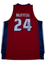 Load image into Gallery viewer, Antonio McDyess Signed Detroit Pistons Red Alternate Jersey