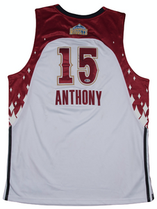 Carmelo Anthony Autographed 2007 Western Conference All-Star Jersey