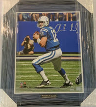 "Load image into Gallery viewer, Andrew Luck Autographed ""Determination"" 5 out of 12 16x20 Framed Photograph"