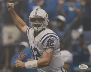 Andrew Luck Autographed 8x10 Photograph