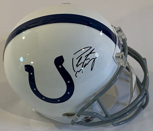 Peyton Manning Autographed Replica Helmet