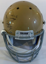 Load image into Gallery viewer, Rudy Ruettiger Autographed Replica Helmet