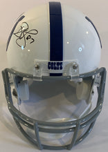Load image into Gallery viewer, Reggie Wayne Autographed Replica Helmet