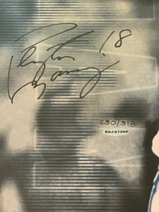 Peyton Manning Autographed Upper Deck Breaking Through 230 of 318