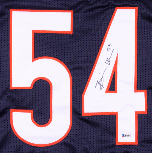 Brian Urlacher Autographed Jersey