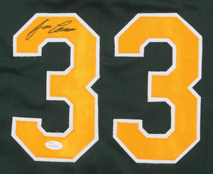 Jose Canseco Autographed Jersey