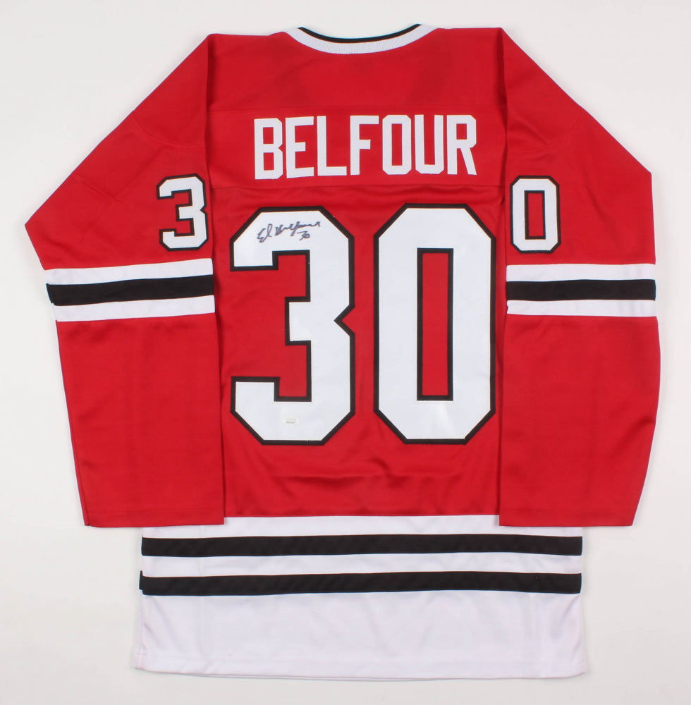Ed Belfour Autographed Jersey