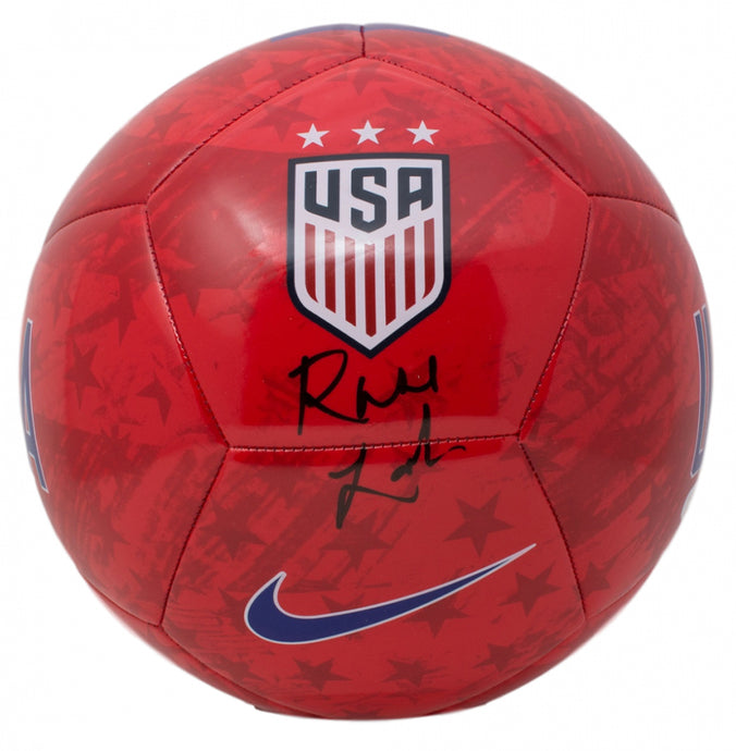 Rose Lavelle Autographed Team USA Soccer Ball