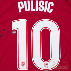 Christian Pulisic Signed Team USA Jersey