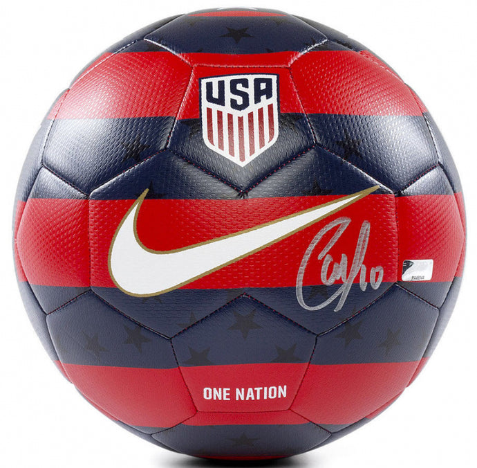 Christian Pulisic Signed Nike 2018 USA Soccer Ball